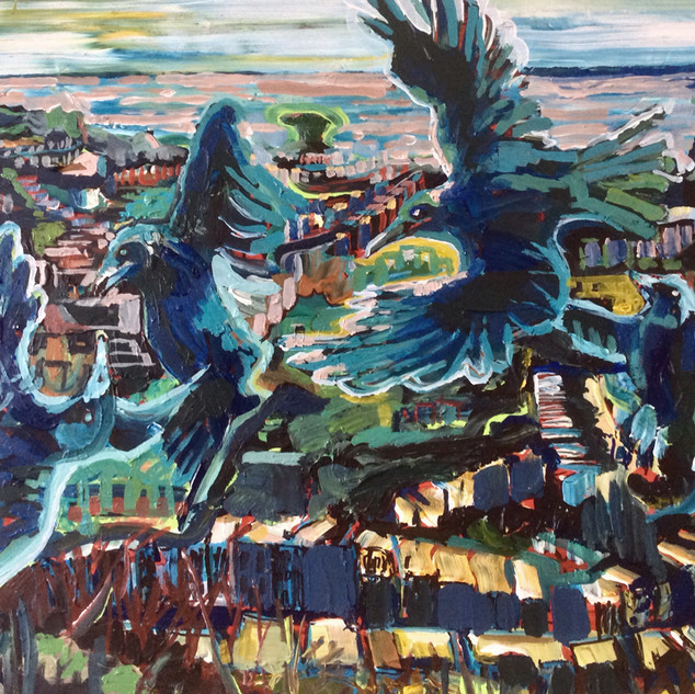 Crows of Twin Peaks San Francisco