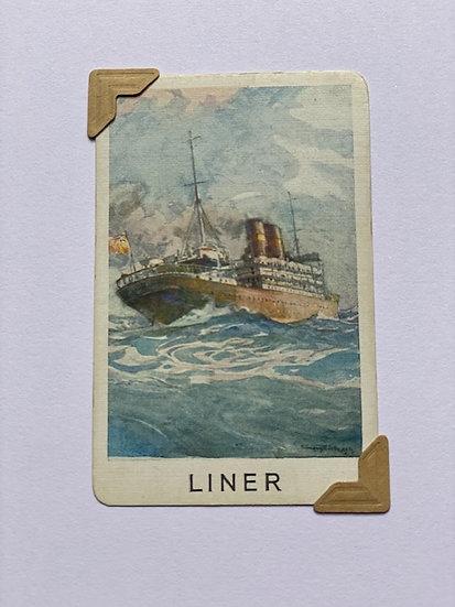 Liner Greetings Card