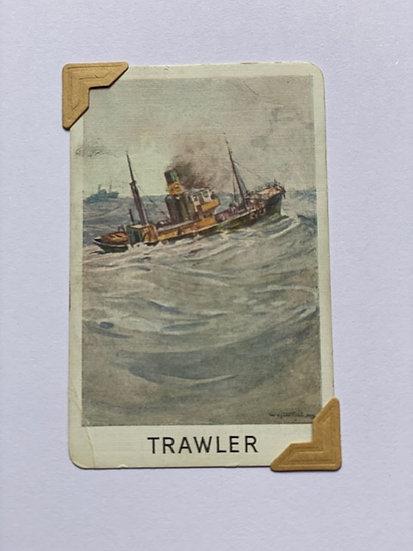 Trawler Greetings Card