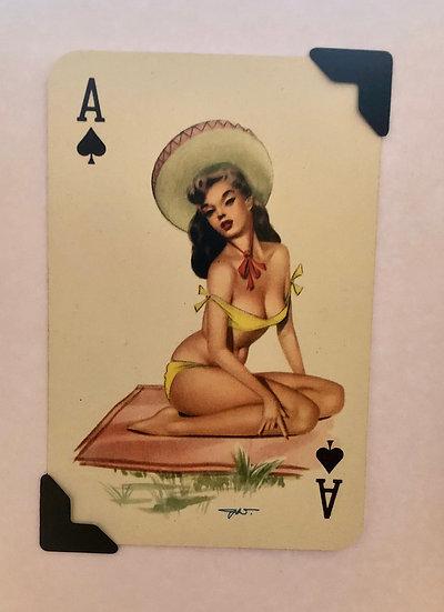 Darling Ace of Spades Greetings Card