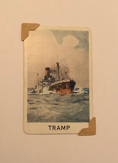 Tramp Greetings Card