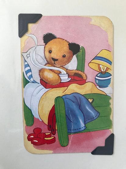 Get Well Soon Sooty Greetings Card