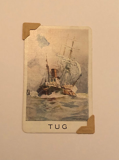 Tug Greetings Card