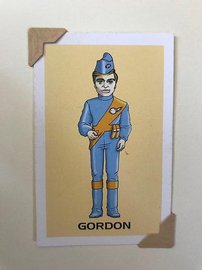 Gordon Thunderbirds Greetings Card