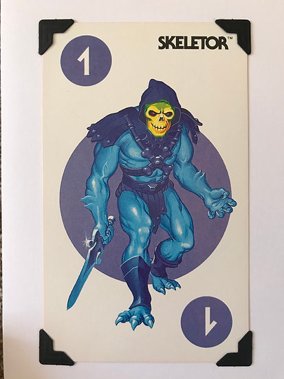 Skeletor Greetings card