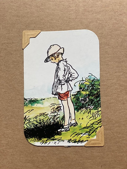 Christopher Robin Greetings Card