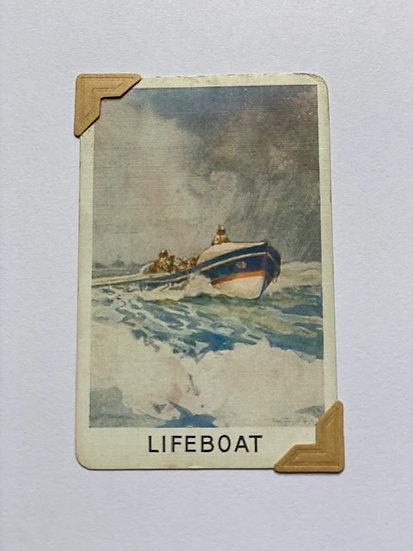 Lifeboat Greetings Card