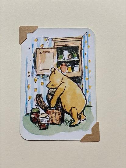Pooh Bear and Hunny! Greetings Card