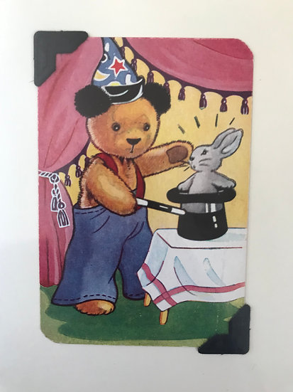 Magician Sooty Greetings Card