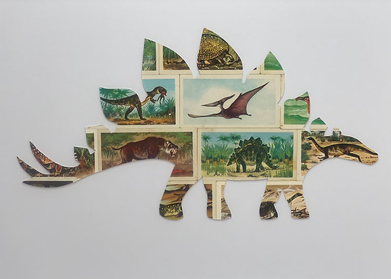 Stegosaurus Vintage Tea Cards Picture