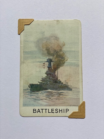 Battleship Greetings Card