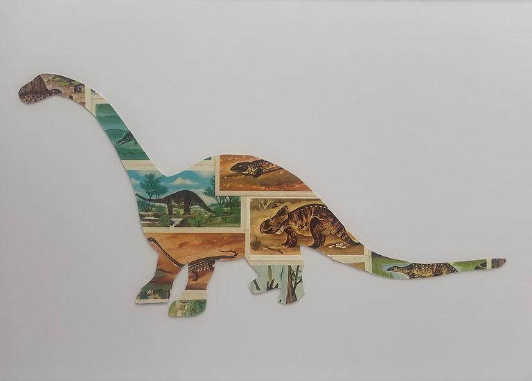 Diplodocus Vintage Tea Cards Picture