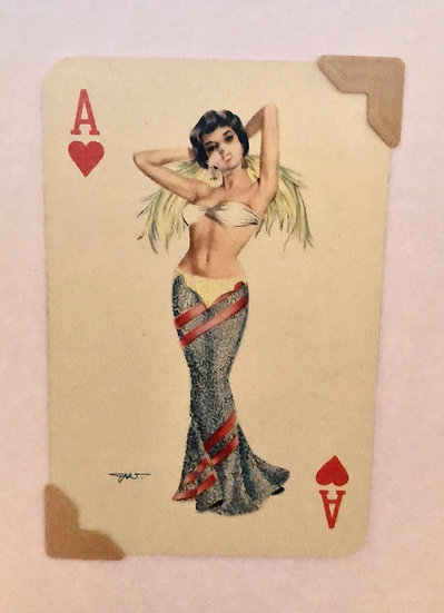 Darling Ace of Hearts Greetings Card