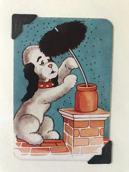 Sweep the Sweep Greetings Card