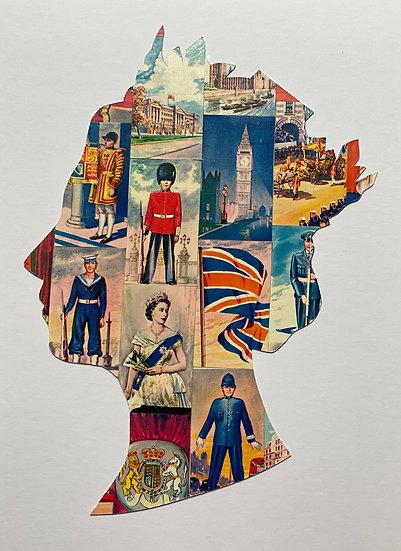 Best of British - Queen Elizabeth Card Game Head