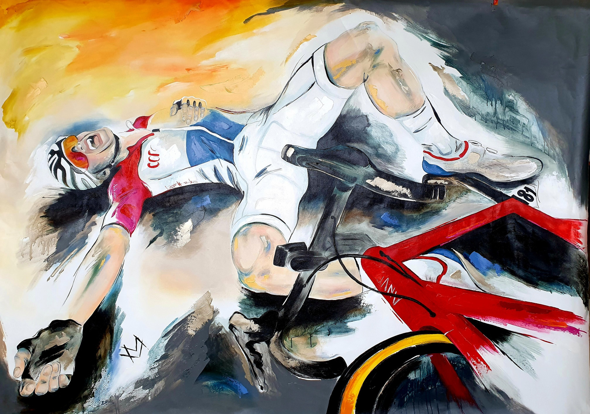 Mathieu van der Poel - Amstel Gold Race.