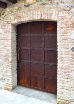 Cancello corten 05a