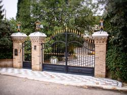 Cancello ferro battuto 06