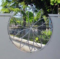 Cancello lamiera acciaio 10b