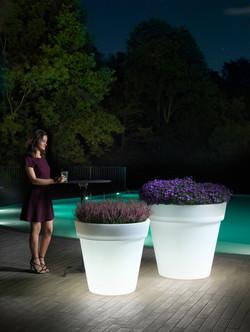 Cache-Pot Easy lampada