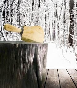 24533156-Nieve-de-la-Navidad-en-la-madera-de-fondos-texturizados-fondos-de-invierno-forestales-Foto-