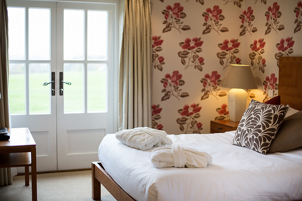 Luxurious bedrooms at The Crown, Stoke By Nayland