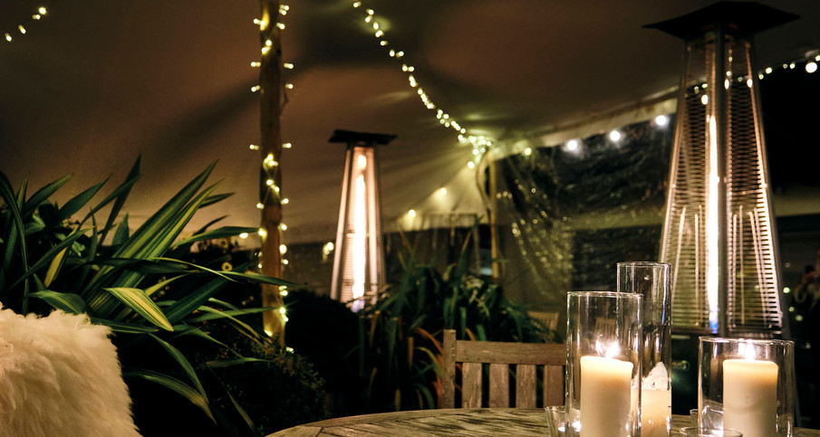 The Crown Terrace Tent