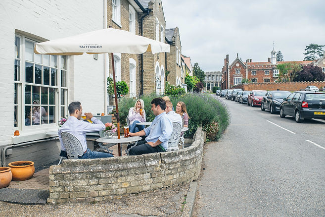 The Black Lion, Long Melford, Exterior