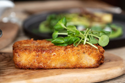 Fish dishes at The Black Lion