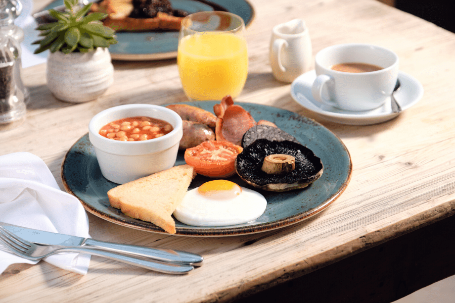 Wake up to a stunning breakfast