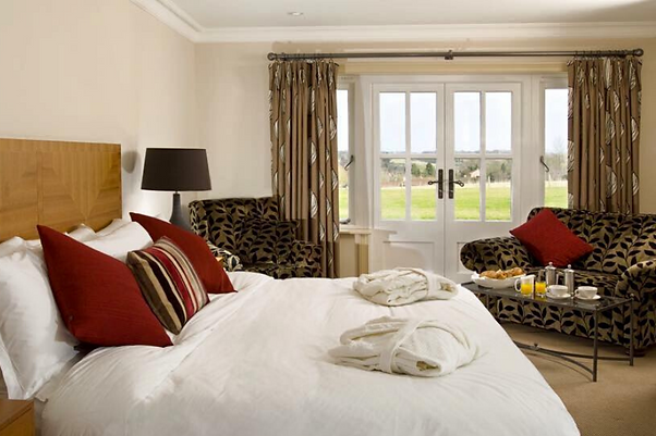 Executive bedrooms at The Crown, Stoke By Nayland