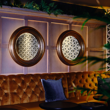 Take a seat in our bar area
