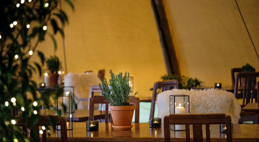 The Cricketers Tipi