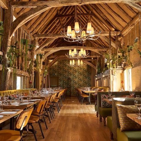 Our impressive restaurant