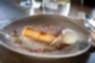 Bakewell tart at The Rupert Brooke, Grantchester