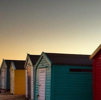 Beach Hut at Southwold