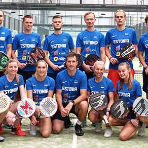 Eesti padelikoondised said Euroopa Meistrivõistlustel väärt kogemuse