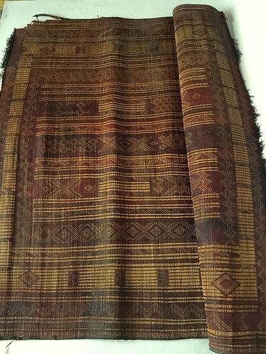 Morroccon Leather Tuareg Rug