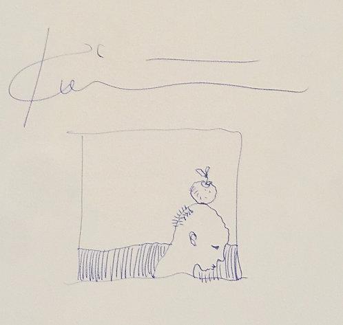 Michael Kvium (Orginal Drawing, The Painter 2001)