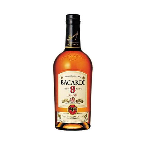 Barcardi 8 Years Rum