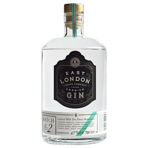 East London Liquor Co. Premium Gin - Batch No.2
