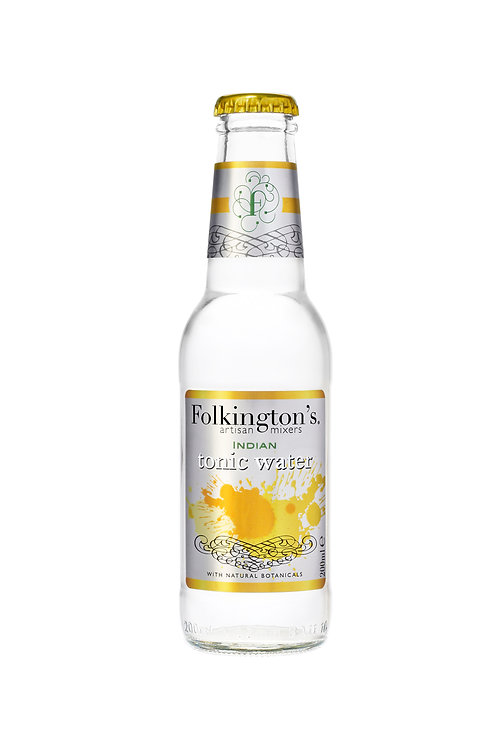 Folkington's Indian Tonic Water (Pack of 24)