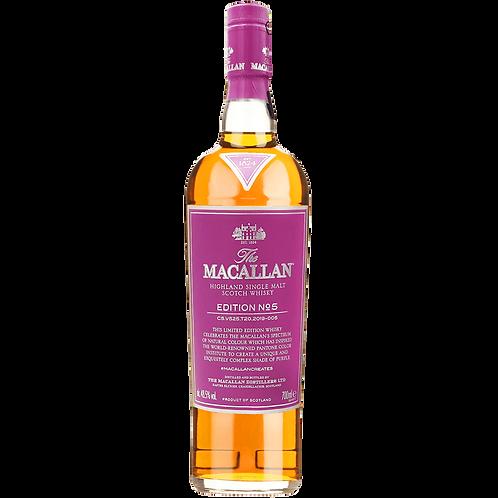 The Macallan (Edition No. 5) Single Malt Whisky