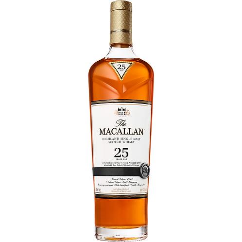 The Macallan 25 Year Old Single Malt Whisky (Sherry Oak)