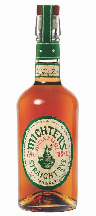 Michter's US*1 Single Barrel Straight Rye Whiskey
