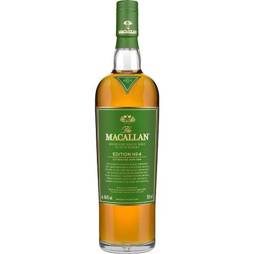 The Macallan (Edition No. 4) Single Malt Whisky