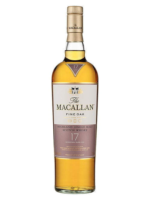 The Macallan 17 Year Old Single Malt Whisky (Fine Oak)