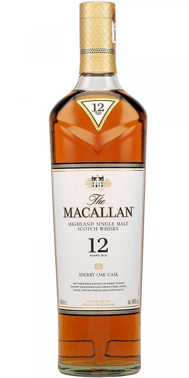 The Macallan 12 Year Old Single Malt Whisky (Sherry Oak)