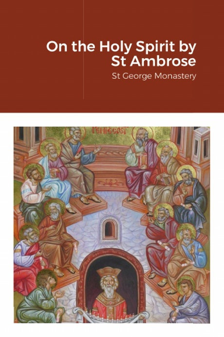 BULK On the Holy Spirit by St Ambrose x 5 Copies