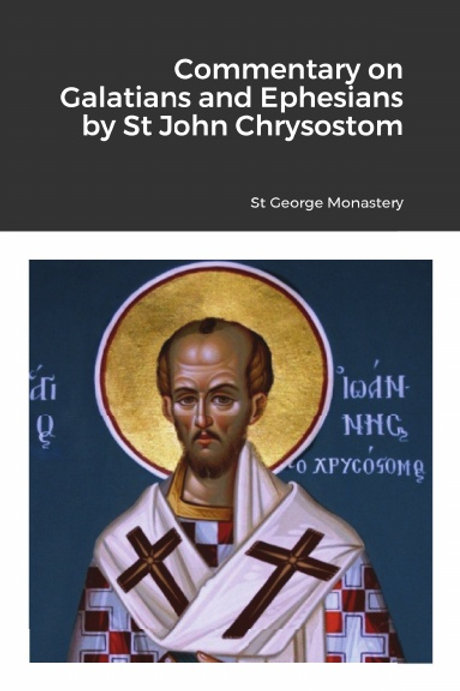 BULK Commentary on Galatians by Saint John Chrysostom x 5 Copies